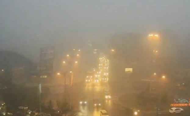 Не излизайте с колите си в София