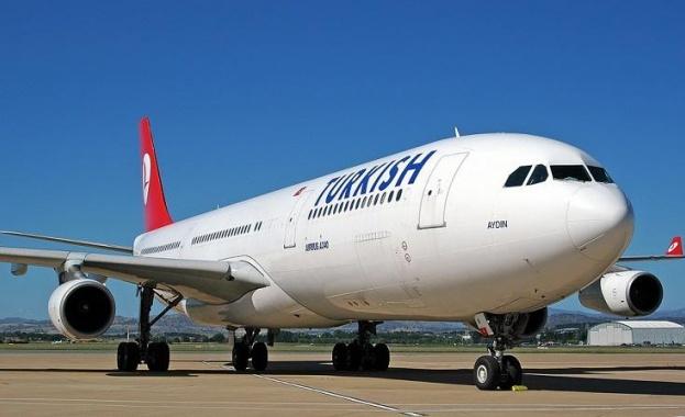 Турските авиолинии с най-много полети в Европа