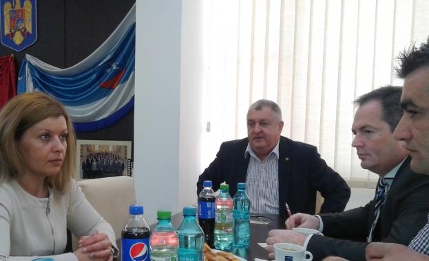 Силистра и Кълъраш обсъдиха изграждането на Дунав мост 3