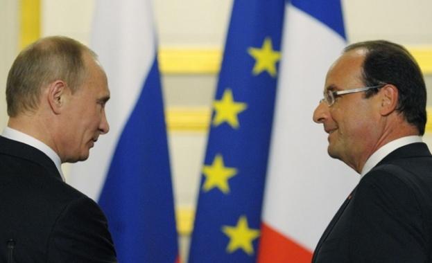 """Оланд и Путин обсъждат """"Мистрал""""-ите в Армения"""