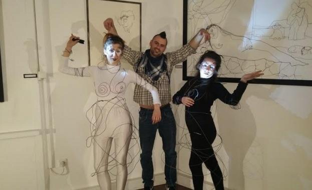 """Откритието на Фондация """"Стоян Камбарев"""" Андрей Хамбарски с уникална изложба"""