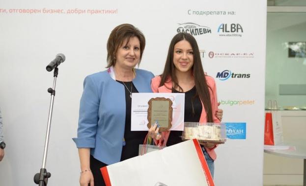 """Василена Сайчева е победител в първото издание на """"Работилница за репортери"""" на """"Епресо нюз"""""""