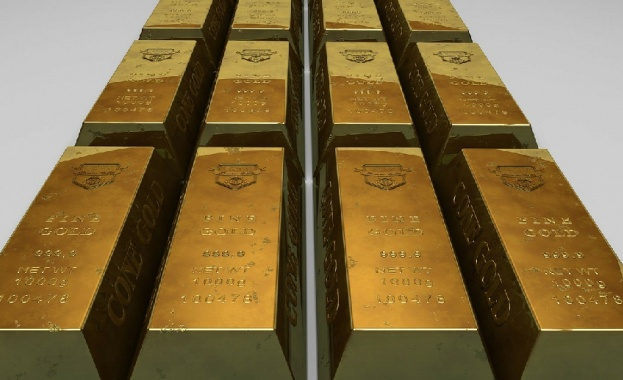 Цената на златото достигна днес най-висока стойност от октомври 2012
