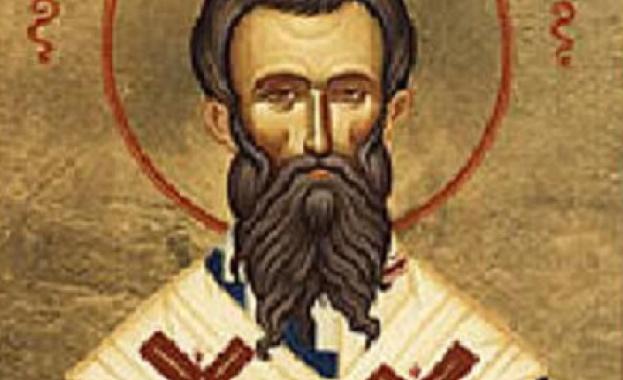 Житие на св. Амвросий Медиолански Св. Амвросий Медиолански се родил