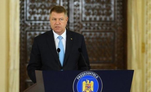 Румънският президент Клаус Йоханис съобщи днес, че в началото на