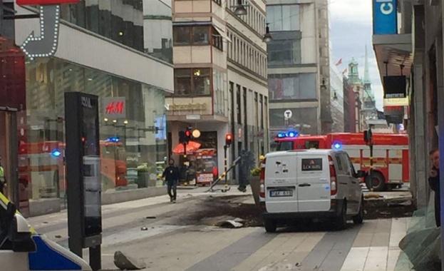 Терористична атака в Стокхолм