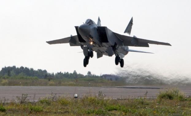 Руски МиГ-31 е прехванал американски разузнавателен самолет RC-135 над Тихия