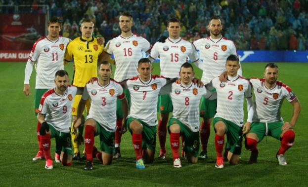Националите на България се сринаха с шест места в ранглистата