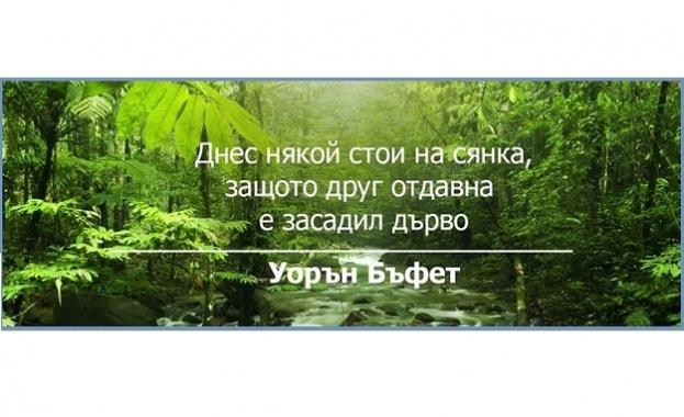 Да посадиш живот
