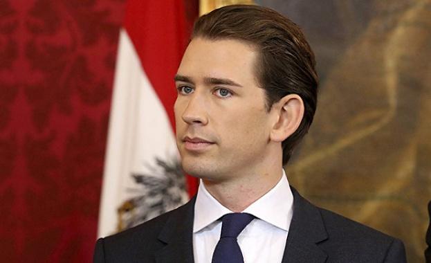 Австрийският канцлер Себастиан Курц осъди днес Турция за опитите ѝ
