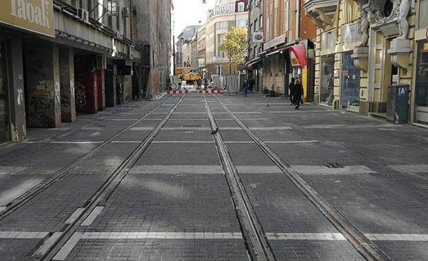 Заради ремонта на ул.Граф Игнатиев: Търговци напускат магазините си в центъра на София