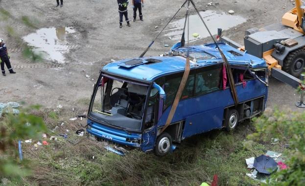 Шестима обвиняеми за катастрофата с автобус край Своге преди 2