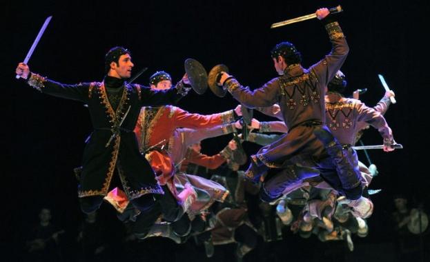 Националният балет на Грузия Сухашвили със специалното участие на Грузинския оркестър на турне в България