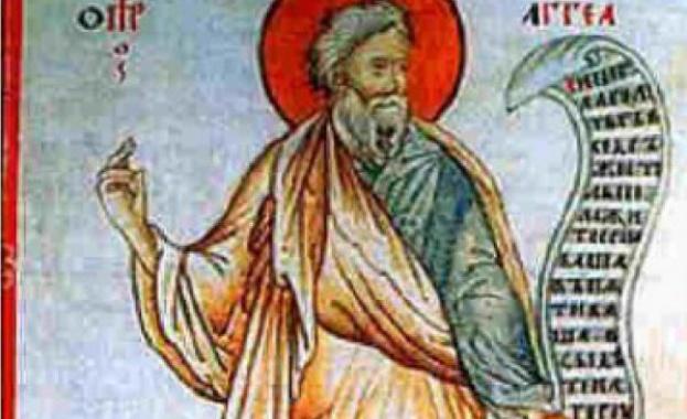 Свети пророк Агей произхождал от Левиевото коляно и бил роден