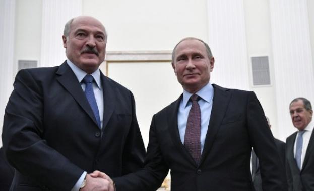 Александър Лукашенко ще бъде приет в Москва от Владимир Путин