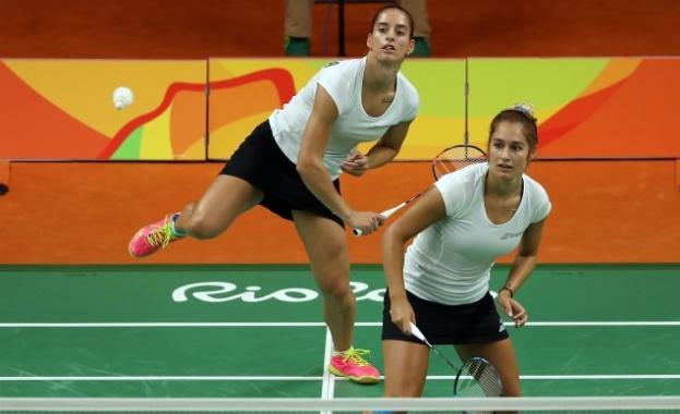 Сестри Стоеви са на полуфинал на европейското по бадминтон