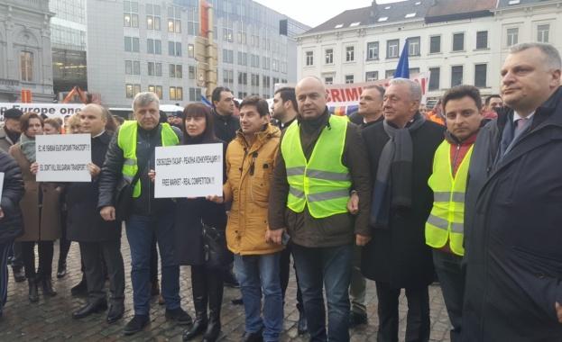 """Депутати от левицата в Брюксел: Реакцията на правителството по пакет """"Мобилност"""" закъсня"""