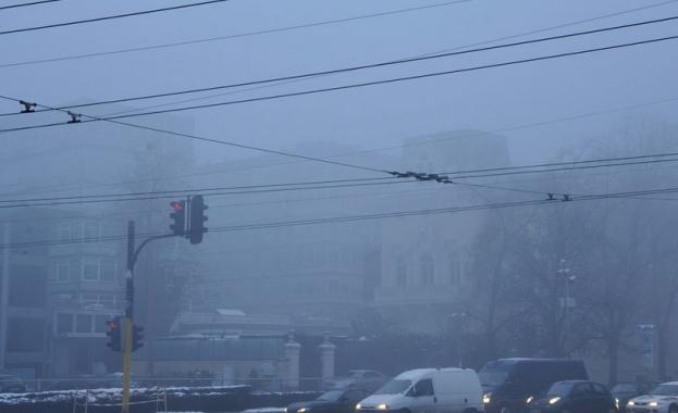 Мръсен въздух в 9 града на страната
