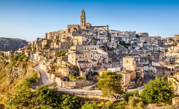 Матера с 44% скок на туристите като евростолица на културата