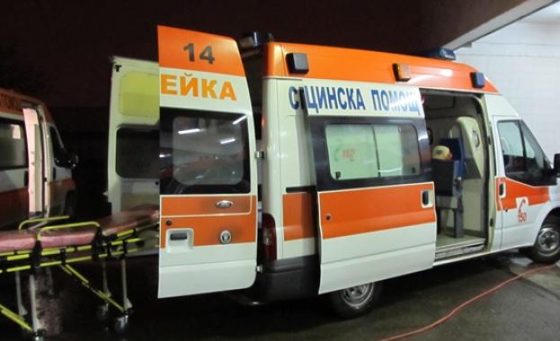Мъж е с 35% изгаряния, след като автомобил се вряза в обект за приготвяне на храна за дома във Варна