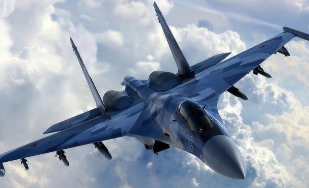 Руски самолет Су-27 се е разбил в Черно море по