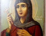 Св. прпмчца Евдокия Илиополска