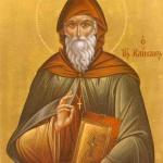Свети преподобни Йоан Лествичник