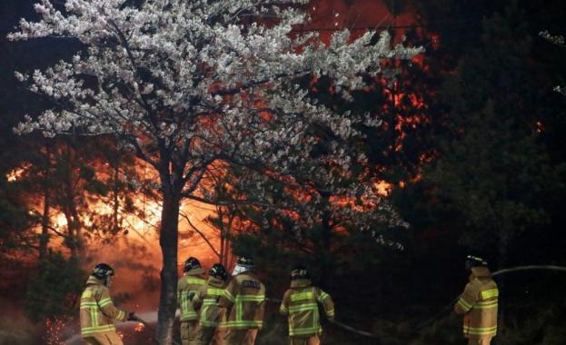 Дим от горските пожари в Сибир обви столицата на руската