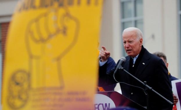 Кандидатът за президент на САЩ от Демократическата партия Джо Байдън