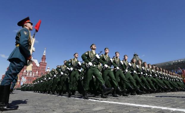 Парадът по случай 75-годишнината от Победата във Великата Отечествена война