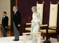 Японският император Акихито абдикира