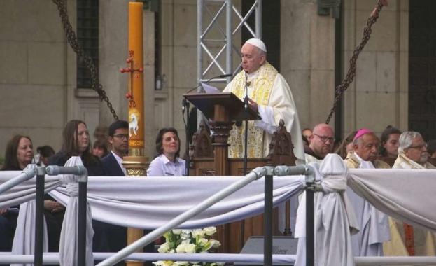 Папа Франциск: Бог изненадва, защото той обича. Любовта е неговият език
