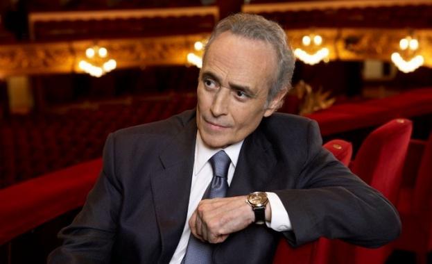Хосе Карерас с майсторски клас в Софийската опера