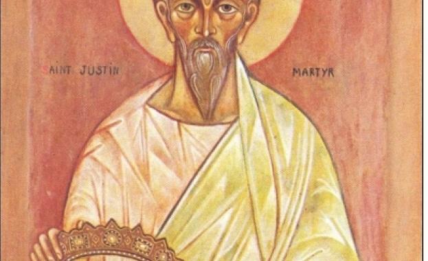 Св. мъченик Юстин Философ бил родом от Сирия. Писал в