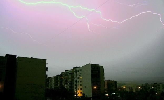 Летни бури в Южна България