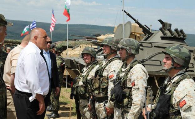 Борисов: С новите изтребители ще пазим и Северна Македония