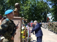 Откриване на паметник на княз Церетелев в село Церетелево, Пловдивско