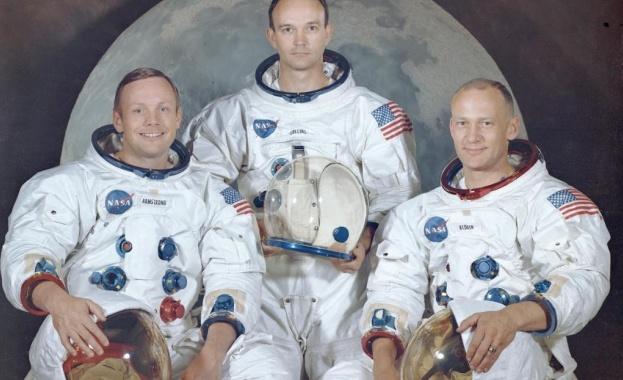 """Астронавтите от """"Аполо 11"""" се събраха в Овалния кабинет на Белия дом"""