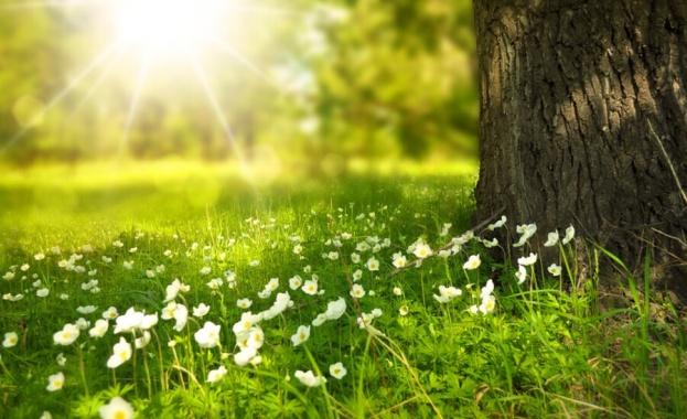 Пролетта се завръща чак в почивните дни