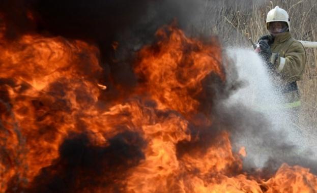 Пожар горя в КОВИД отделение в русенска болница