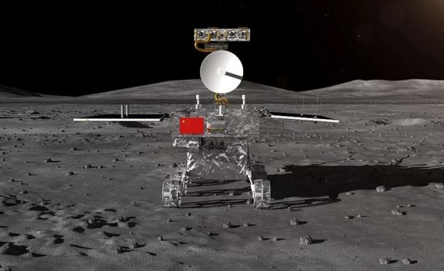 """Китайският луноход """"Юйту-2"""" измина 271 м по обратната страна на Луната"""
