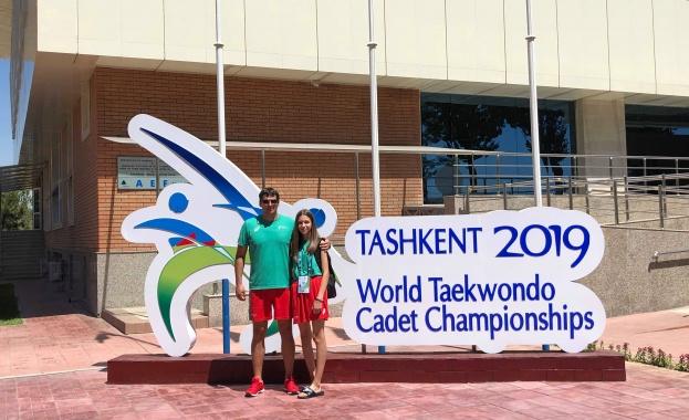 Александра Георгиева се класира 5-а на Световното първенство по таекуондо