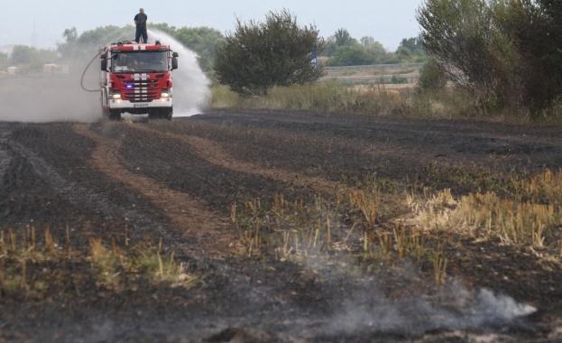 В 21 области на страната има опасност от пожари