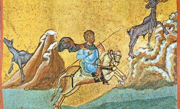 Св. великомъченик Евстатий Плакида и семейството му