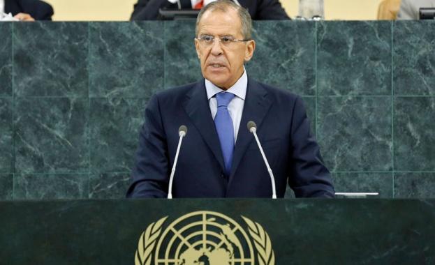 Руският външен министър Сергей Лавров обвини президента на САЩ Джо