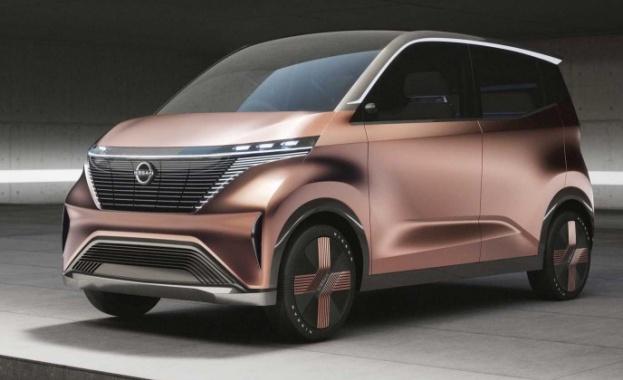 Nissan IMk концепт е малък градски електромобил