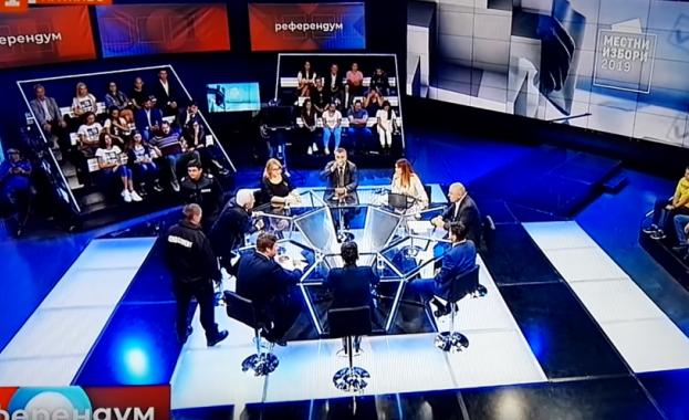 Волен Сидеров направи скандал в БНТ (ВИДЕО)