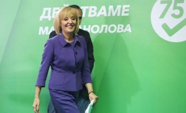 Мая Манолова заведе дело срещу Бойко Борисов за 15 000 лева