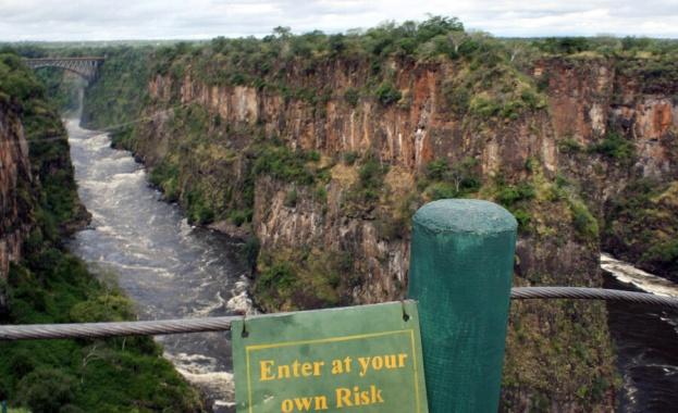 """Най-големият водопад в Африка """"Виктория"""" пресъхва"""