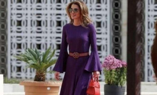 Стилният трик, който кралица Рания от Йордания зае от Меган Маркъл (Снимки)